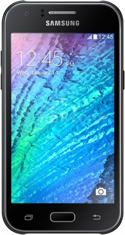 Смартфон  Samsung Galaxy J1 Black [J100FN]
