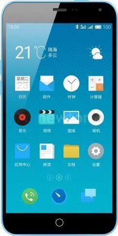 Смартфон MEIZU M1 Note (32GB) Blue