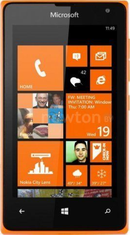 Смартфон  Microsoft Lumia 435 Dual SIM Orange