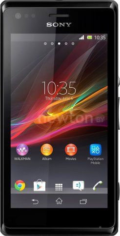 Смартфон  Sony Xperia M Black