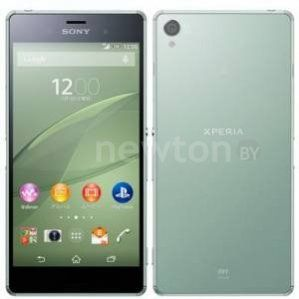 Смартфон  Sony Xperia Z3 Silver/Green