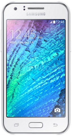 Смартфон  Samsung Galaxy J1 White [J100/DS]