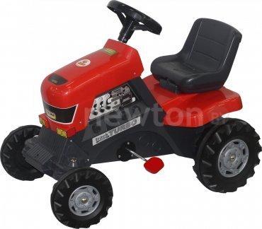 Педальная машинка Полесье Каталка-трактор с педалями Turbo [52674] купить в Минске - цены в интернет-магазине NEWTON.BY, отзывы