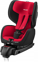 Автокресло RECARO Optiafix Racing Red