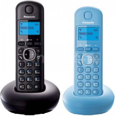 Радиотелефон  Panasonic KX-TGB212RU Black/Blue