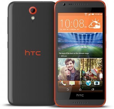 Смартфон  HTC Desire 620G dual sim Tuxedo Gray Grey/Orange