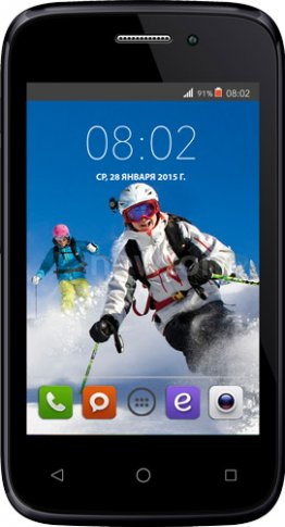 Смартфон  BQ-Mobile Aspen Mini (BQS-3510) Yellow