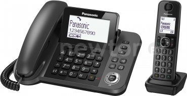 Радиотелефон  Panasonic KX-TGF310RUB